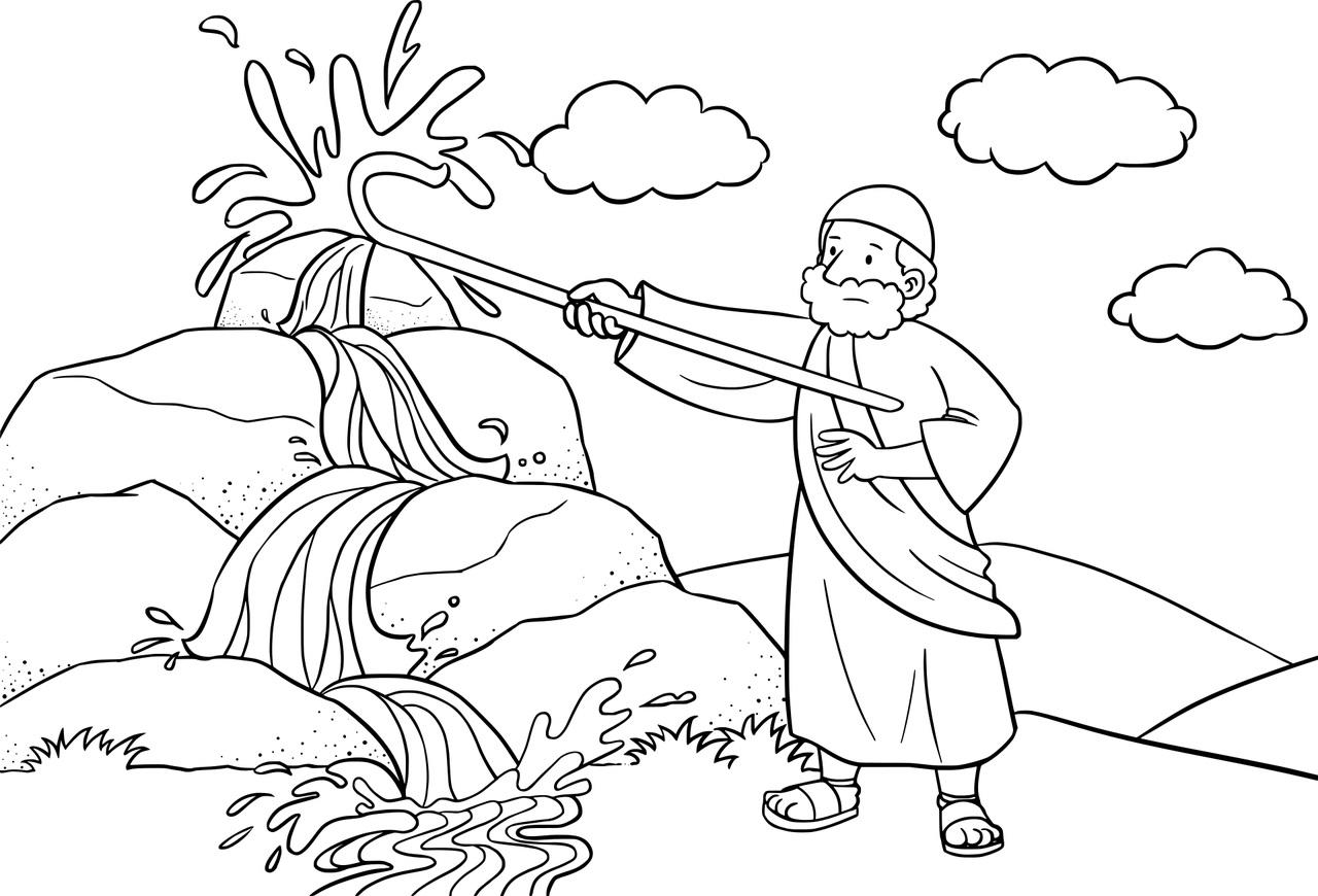 50 Atividades Biblicas De Moises Para Imprimir E Colorir Ensino